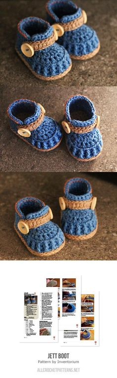 Jett Boot Crochet Pattern