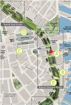 Mapa dos estacionamentos