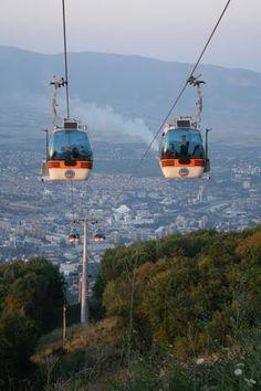 Cableway - Vodno, Skopje, Macedonia