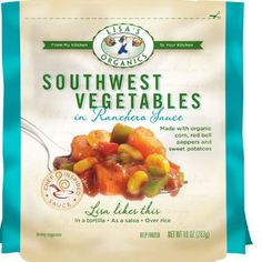 Product Review: Lisa's Organics Frozen Vegetables