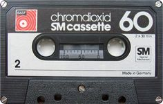 BASF Chromdioxid SM Cassette 60