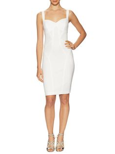 Seamed Pomte Sheath Dress by Ali