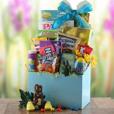 Bunny Trail   Easter Gift Basket.  Price: $56.95