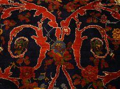 rich color details, Persian rug.