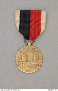 With Berlin's unique legal status as an occupied territory left over from the days following the conclusion of the Second World War, members of the Berlin Brigade were authorized the Army of Occupation Medal with Germany clasp.