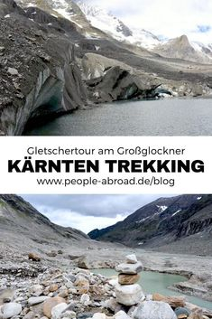 Mountain tour and glacier trekking in Austria - Advertising / mountain tour on the Großglockner in Carinthia tour - Europe Destinations, Outdoor Reisen, Diving Lessons, Carinthia, Hiking Quotes, Best Travel Quotes, Reisen In Europa, Travel Alone, Business Travel