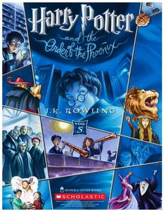 Harry Potter and the Order of the Phoenix / J.K.Rowling