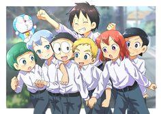 Anime Chibi, Manga Anime, Anime Art, Doraemon Wallpapers, Cute Wallpapers, Best Friend Songs, Doraemon Cartoon, Cute Cartoon Drawings, Doujinshi