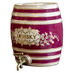 English Ceramic Irish Whisky Barrel