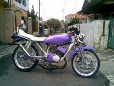 Modifikasi Motor Rx King Ungu