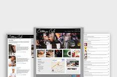 Bottega - Restaurant WordPress Theme by Organized Themes on Restaurant Themes, Create List, Web Themes, Event Flyer Templates, Business Events, Cool Fonts, Business Brochure, Wordpress Theme, Social Media