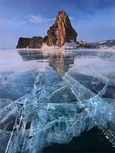 Baikal Lake by Yury Pustovoy. (via 500px / Baikal Lake by Yury Pustovoy)