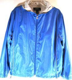 Ralph Lauren Women Hoodie Jacket Size L Blue.  SSS 72 #RalphLauren #BasicJacket