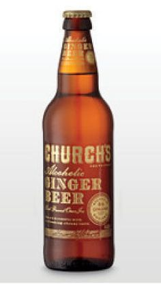 2nd February 2013 ~ #DailyPint 33: Pint of Church's Alcoholic Ginger Beer - Traditional Ale. Different. Couldn't drink a lot of this. 6/10 [Drank at home]