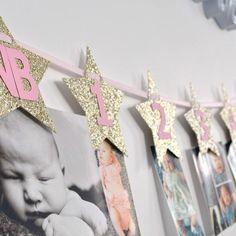 Baby Crafts, Little Miss, Birthday Decorations, Banner, Instagram, Design, Anniversary Decorations, Banner Stands