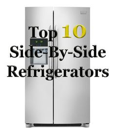 If you've been keeping up with our latest writings then you have probably seen our Top 10 French Door Refrigerators, as well as Apartment Refrigerators. In