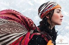 Hermes Indian Winter : Images Campagne Pub Hiver 2008 2009