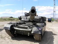 FV4201 Chieftain Mk 10 main battle tank of the United Kingdom during the 1980s