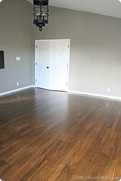 jacobean stain minwax hardwood floors thriftydecorchick.com