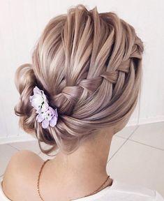 French braided updo by Lena Bogucharskaya