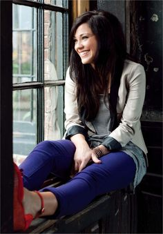 Kari Jobe. Love her music and style of worship. Great inspiration for how we should worship.