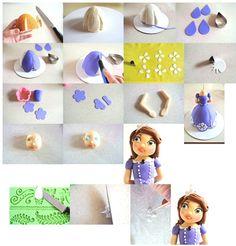 Princess Sophia https://www.facebook.com/notes/tea-party-cakes/princess-sophia-i-tutorial/507714609295160