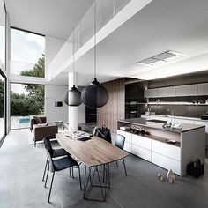 A black and white kitchen is a stylish colour scheme for any modern kitchen, so check out these beautiful monochrome design ideas. Interior Styling, Interior Decorating, Interior Design, Design Interiors, Home Interior, Wooden Kitchen, Kitchen Decor, Kitchen Towels, Kitchen Remodeling