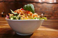 myindigo Europark in Salzburg, Salzburg; Vegan Food, Vegan Recipes, Salzburg, Quick Meals, Cobb Salad, Serving Bowls, Restaurant, Tableware, Fast Meals