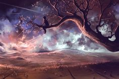 Poster | IT MADE SCARS IN THE SKY von Cyril Rolando | more posters at http://moreposter.de