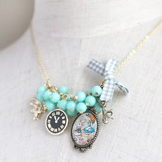 Alice In Wonderland Mr Rabbit Necklace