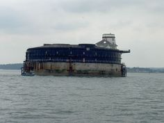 """Isle of Wight/Cowes """"No man's Land Fort"""" -- Best place to survive a zombie outbreak. #ZombieSurvivalTips"""