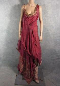 Spartacus Ilithyia Viva Bianca Screen Worn Roman Gown EP 208 COA | eBay