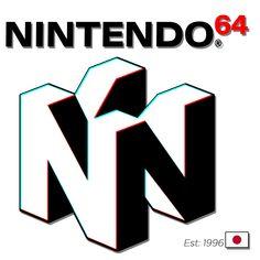 Nintendo 64 Long T Shirt By Primeybaby In 2021 Japanese Logo Nintendo 64 Game Logo