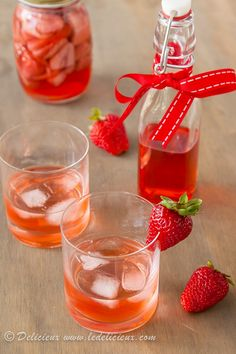 How to make your own strawberry vodka