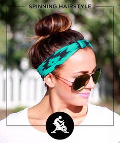 11 Fuss-Free Hairstyles for Every Workout - Forget a boring pony. Get the most out of your fitness game with these super-wearable (and ultra-adorable) gym-friendly hairstyles from Pinterest
