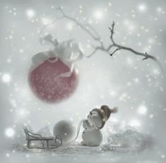 Like ♥♪♫ Comment ♥♪♫ Share Merry Christmas Love and Light *!* Feliz Navidad Amor y Luz *! Merry Christmas Gif, Christmas Scenes, Merry Christmas And Happy New Year, Pink Christmas, Christmas Pictures, Christmas Wishes, Christmas Snowman, Christmas Greetings, Beautiful Christmas