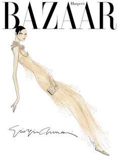BAZAAR, #fashion #illustration