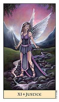 Crystal Limited Edition Giclee Prints featuring images from the Major Arcana from the fantasy tarot deck created and illustrated by Jennifer Galasso. Justice Tarot, Online Tarot, Tarot Major Arcana, Tarot Card Meanings, Oracle Cards, Tarot Decks, My Images, Mystic, Aurora Sleeping Beauty