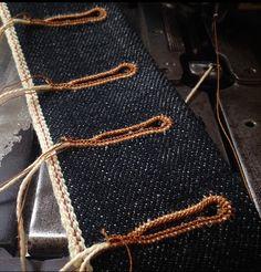 denim & handmade buttonhole