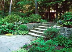 A great hardscaping project leads you through the landscape and provides a sense of timeless beauty