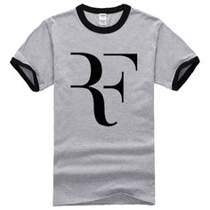 2017 New Style Summer Fashion mma T shirt Men Roger Federer shirt Brand 100% Cotton Short sleeve Clothing Tops Tees Streetwear