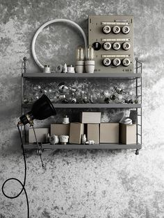 String pocket styling by Lotta Agaton's class