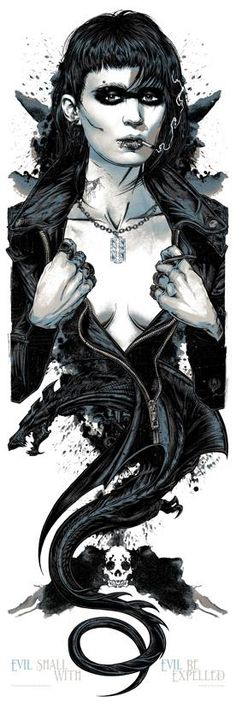 The Girl with the Dragon Tattoo by Rhys Cooper