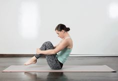 4. Rolling Like a Ball #pilates #workout https://greatist.com/fitness/10-minute-pilates-workout