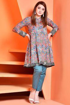 96cbc6911c9 Summer Fashion Lawn Kurti Designs Trends Latest Collection 2019 ...