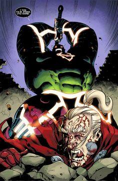 Hulk vs Dracula...