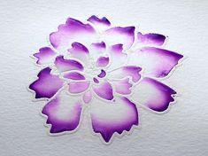 Karten-Kunst Techniques-Blog - Blitz-Colorieren - Step #7