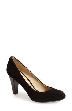Geox 'Marie Claire' Suede Pump (Women) available at #Nordstrom