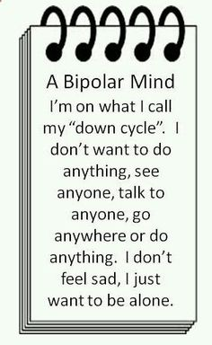 New ideas for quotes truths feelings bipolar Bipolar Awareness, Mental Illness Awareness, Mental Disorders, Bipolar Disorder, Bipolar Quotes, Bipolar Funny, Bipolar Help, I Need U, Understanding Anxiety