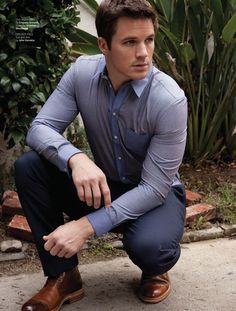 Matt Lanter in August Man Magazine